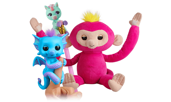 jouet interactif fingerlings
