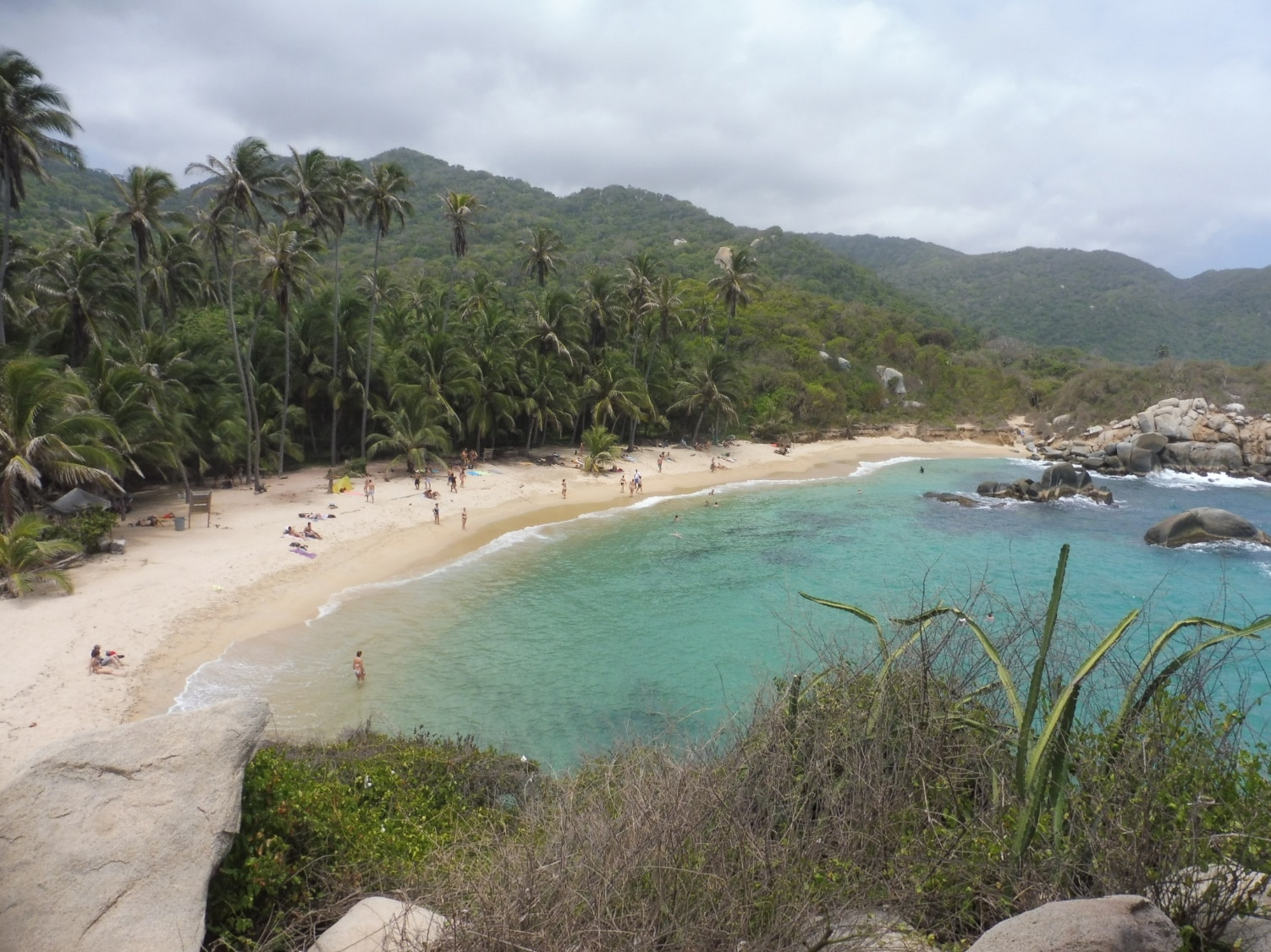 plage colombienne